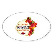 Turks and Caicos Girlfriend Valentine design Stick