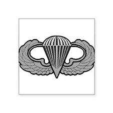 Airborne Oval Sticker