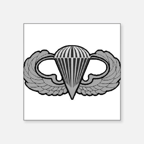 Airborne Oval Sticker