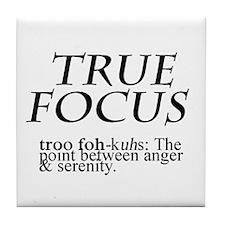 True Focus Tile Coaster