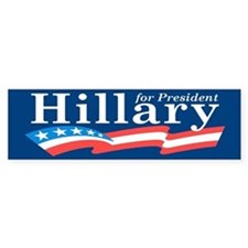 Hillary 2016 Bumper Stickers