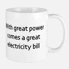 With great power comes a bill Mug