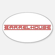 Barrelhouse Oval Decal