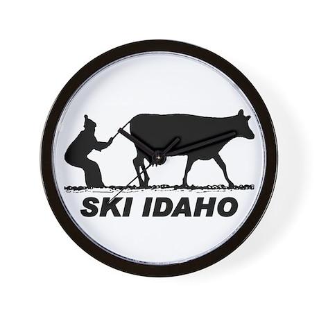 The Ski Idaho Shop Wall Clock