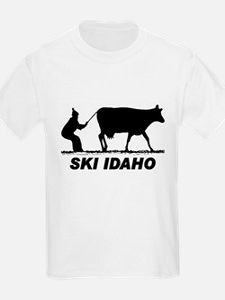 The Ski Idaho Shop Kids T-Shirt