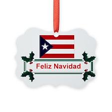 Cute Puerto rico Ornament