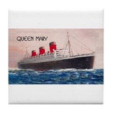 Queen Mary Tile Coaster