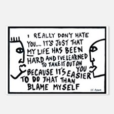 Blame Postcards (Package of 8)
