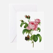 Pierre-Joseph Redoute Rose Greeting Card