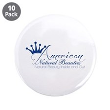 """White 3.5"""" Button (10 pack)"""