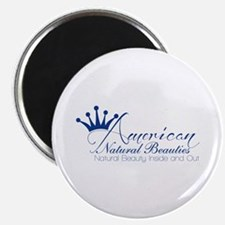 "White 2.25"" Magnet (100 pack)"