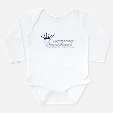 White Long Sleeve Infant Bodysuit