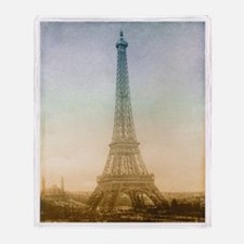 The Eiffel Tower Throw Blanket