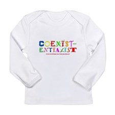 """""""Coexistentialist"""" Long Sleeve Infant T-Shirt"""