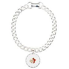 Colombian Girlfriend Valentine design Bracelet