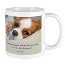 Cavalier King Charles Spaniel in Heaven Small Mug