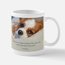 Cavalier King Charles Spaniel in Heaven Small Mugs