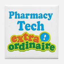 Pharmacy Tech Extraordinaire Tile Coaster