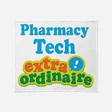 Pharmacy Tech Extraordinaire Throw Blanket
