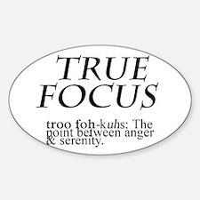 True Focus Sticker (Oval)