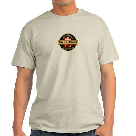 brew pups logo Light T-Shirt