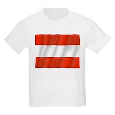 Pure Flag of Austria Kids T-Shirt