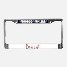 Bearcat License Plate Frame