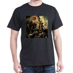 Liberty Leading The People Dark T-Shirt