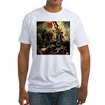 Liberty Leading The People Fitted T-Shirt
