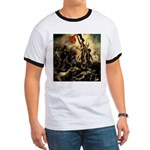 Liberty Leading The People Ringer T