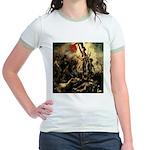 Liberty Leading The People Jr. Ringer T-Shirt