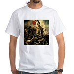 Liberty Leading The People White T-Shirt