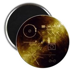 Voyager's Gold Record Magnet