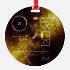 Voyager's Gold Record Ornament
