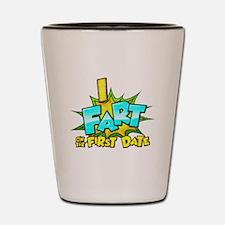 First Date Shot Glass