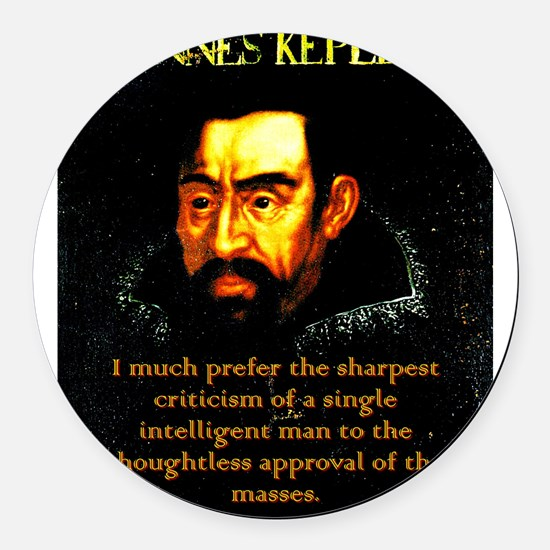 I Much Prefer - Kepler Round Car Magnet