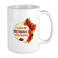 Eritrean Girlfriend Valentine design Mug