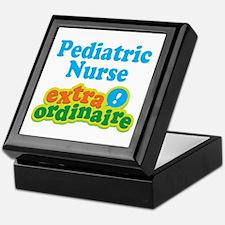 Pediatric Nurse Extraordinaire Keepsake Box