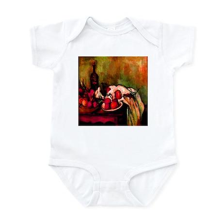 Still Life Cezanne 1895 Infant Bodysuit