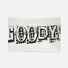 Goody in white Rectangle Magnet