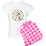 Baseball Player Women's Light Pajamas