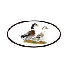 Appleyard Silver Ducks Patches