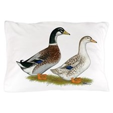 Appleyard Silver Ducks Pillow Case