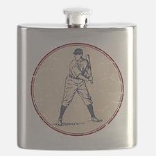 Baseball Player Flask