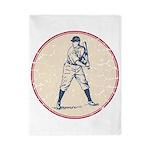 Baseball Player Twin Duvet
