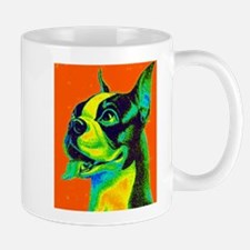 Vintage Boston Terrier Close-Up Mug