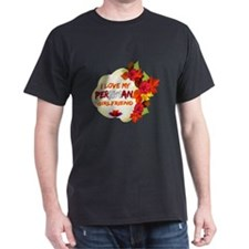 Peruvian Girlfriend Valentine design T-Shirt