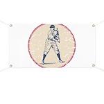 Baseball Player Banner