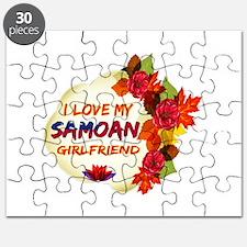 Samoan Girlfriend Valentine design Puzzle