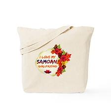 Samoan Girlfriend Valentine design Tote Bag